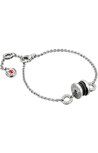 BRACCIALE BULGARI SAVE THE CHILDREN ARGENTO