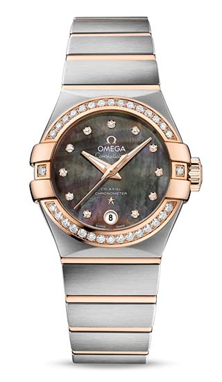 Constellation Omega Co-Axial 27 mm Tahiti