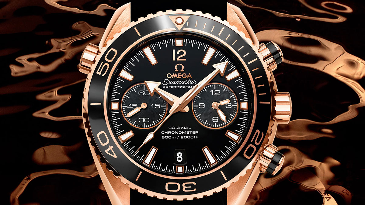Planet Ocean 600M Omega Co-Axial Chronograph 45,5 mm