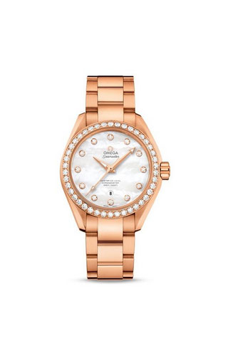Aqua Terra 150M Omega Master Co-Axial 34 mm Donna