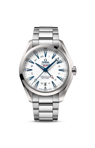 Aqua Terra 150M Omega Master Co-Axial GMT 43 mm